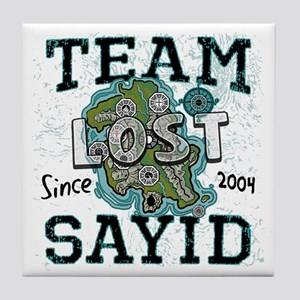Team Sayid Tile Coaster