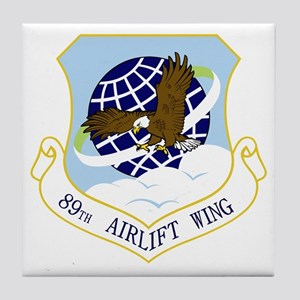 89th AW Tile Coaster