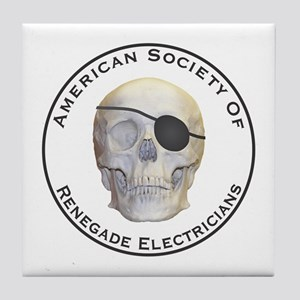 Renegade Electricians Tile Coaster
