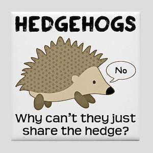 e975932ba Funny Hedgehogs Coasters - CafePress