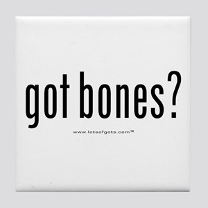 got bones? Tile Coaster