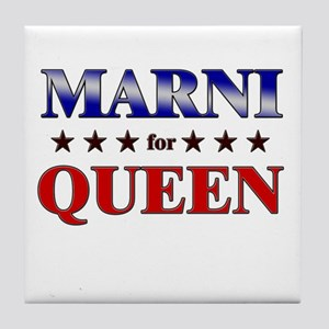 MARNI for queen Tile Coaster