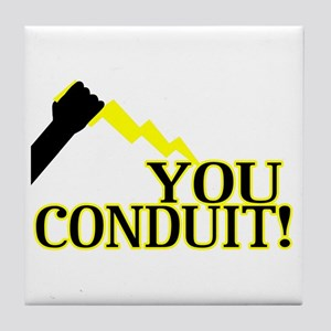 You Conduit Tile Coaster