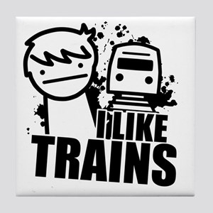 I Like Trains! Tile Coaster
