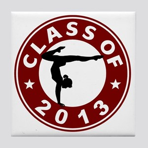 Class Of 2013 Gymnastics Tile Coaster