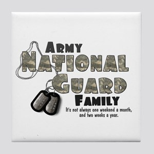 National Guard Family Tile Coaster