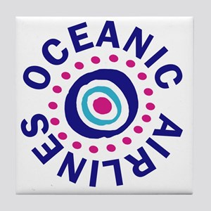 oceanicairlinesround Tile Coaster