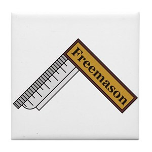 Freemason Square Tile Coaster