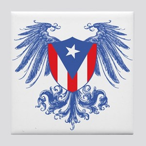 Puerto Rico Wings Tile Coaster