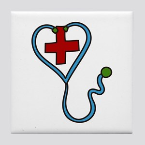 Stethoscope Tile Coaster