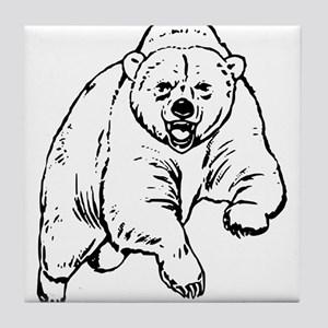 Custom Grizzly Bear Sketch Stein1215108765 Coasters Cafepress