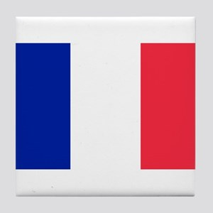 French Flag Tile Coaster
