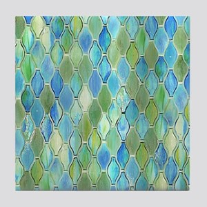 Ocean Glass Tile Coaster