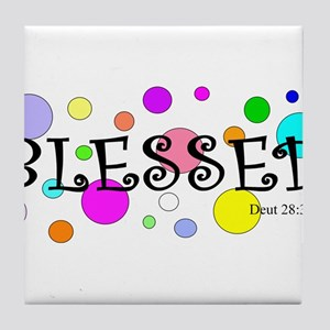 Blessed Tile Coaster
