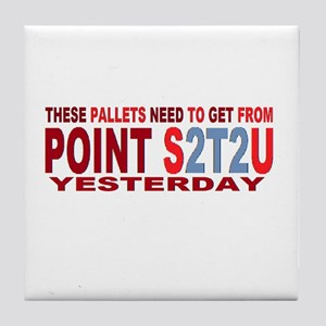 point 2t2 Tile Coaster