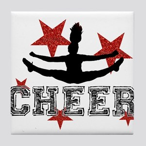 Cheerleader Tile Coaster