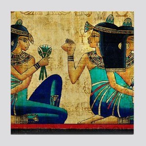 Egyptian Queens Tile Coaster