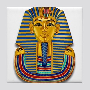 King Tut Mask #2 Tile Coaster