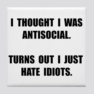 Quotes Stupid People Coasters - CafePress
