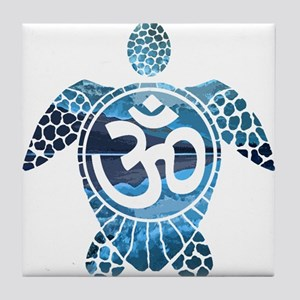 Ohm Turtle Tile Coaster