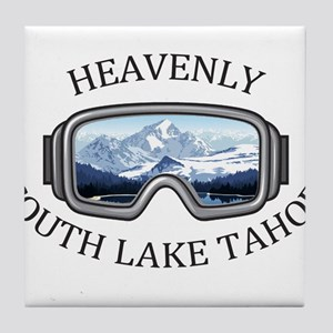 Heavenly Ski Resort - South Lake Ta Tile Coaster