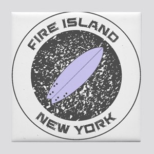 New York - Fire Island Tile Coaster