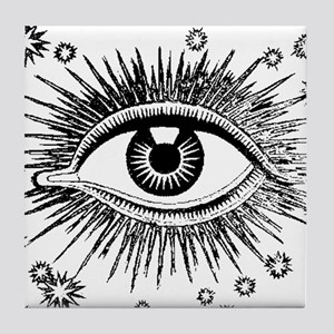 All Seeing Eye Tile Coaster