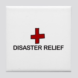 Disaster Relief Tile Coaster