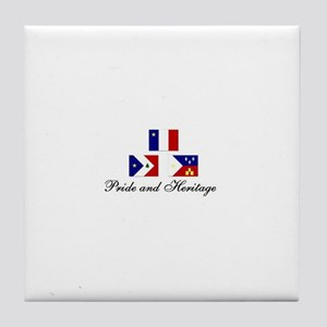 Acadian/Cajun Tile Coaster (PH)