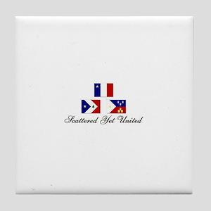 Acadian/Cajun Tile Coaster (SYU)