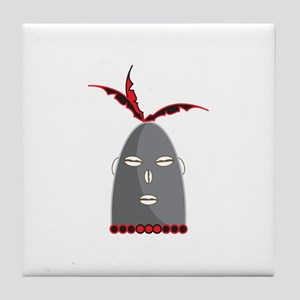 Eleggua Head Tile Coaster