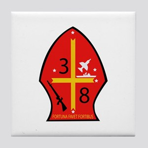 3rd Battalion - 8th Marines Tile Coaster
