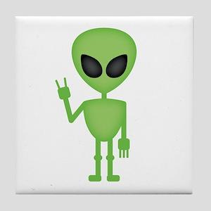 Aliens Rock Tile Coaster
