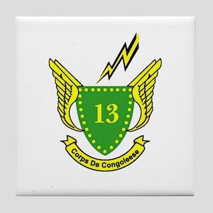 Congoleese Tile Coaster