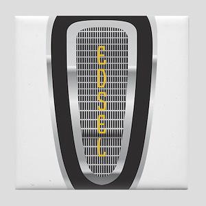 The Edsel Horsecollar Logo Tile Coaster