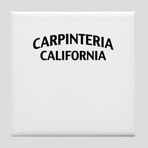 Carpinteria California Tile Coaster