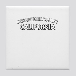 Carpinteria Valley California Tile Coaster