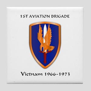 1st Aviation Brigade Tile Coaster