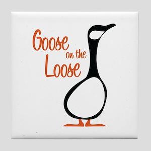New Goose Tile Coaster