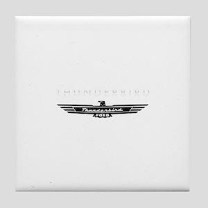 Ford Thunderbird Emblem Tile Coaster
