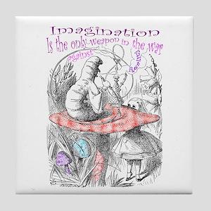 Imagination & Reality Tile Coaster