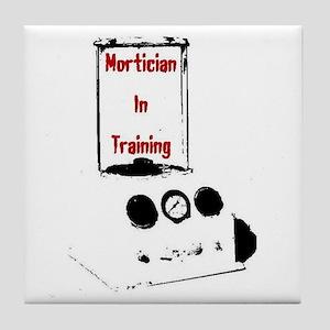 Mortician Tile Coaster