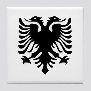 Albanian Eagle Tile Coaster