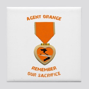 Agent Orange Tile Coaster