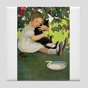 Love My Kitty Tile Coaster