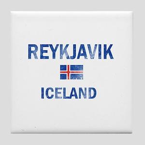 Reykjavik Iceland Designs Tile Coaster