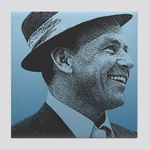 SINATRA: Confidence Is King Journal F Tile Coaster