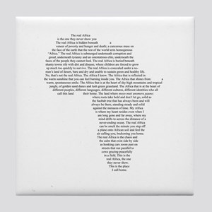 Real Africa - Tile Coaster