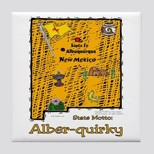 NM-Alber-quirky! Tile Coaster