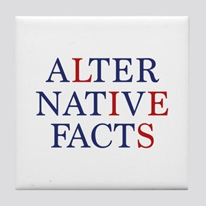 Alternative Facts Tile Coaster